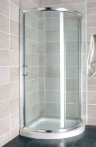 Atlantis Single Door Shower Enclosure